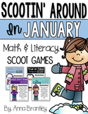 Scootin' Around in January: Math and Literacy Scoot Games