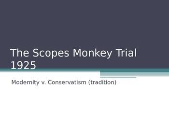 Scopes Trial - PPT - Roaring Twenties