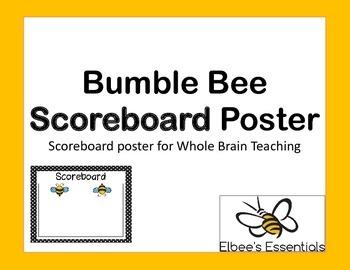 Scoreboard - Whole Brain Teaching (Bee Themed)