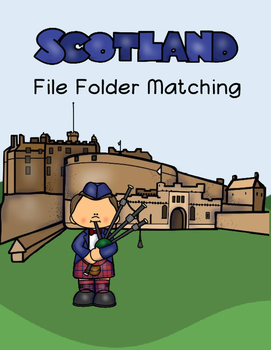 Scotland File Folder Matching