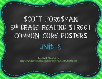 Scott Foresman 5th Common Core Posters Unit 2