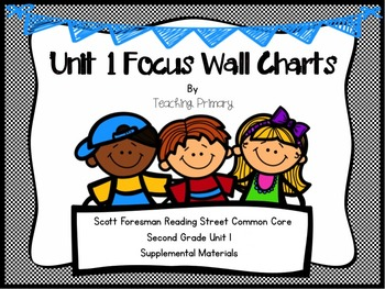 Reading Street Common Core Unit 1 Focus Wall Second Grade
