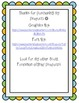 Scott Foresman Reading Street First Grade Spelling Lists - Unit 1