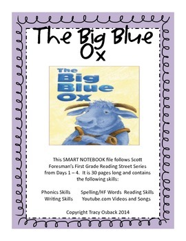 The Big Blue Ox SMARTBoard Lesson Scott Foresman Reading S