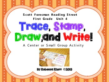 Scott Foresman Reading Street-Grade 1, Unit 4-Trace, Stamp