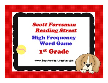 "Scott Foresman ""Reading Street"" High Frequency Word Game:"