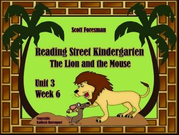 Scott Foresman Reading Street Kindergarten Unit 3 Week 6 T