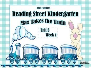 Scott Foresman Reading Street Kindergarten Unit 5 Week 1 M