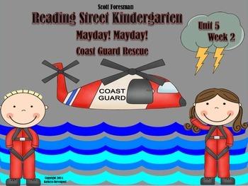 Scott Foresman Reading Street Kindergarten Unit 5  Week 2