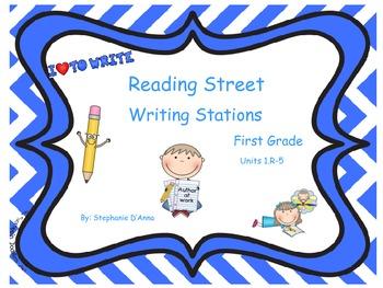Scott Foresman Reading Street Writing Stations Units 1.R-5