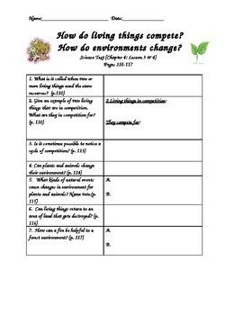 Scott Foresman-Science-Grade 3-Ch.4:Plants & Animals -Less
