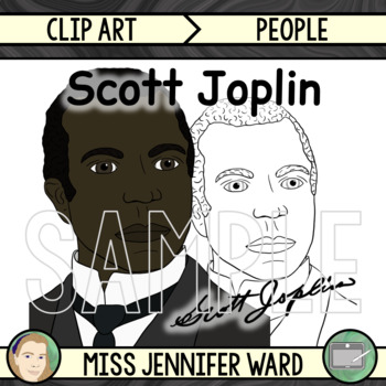 Scott Joplin Clipart