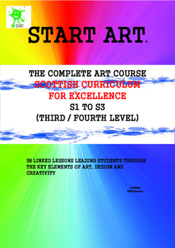 Scottish Curriculum for Excellence. Art Curriculum