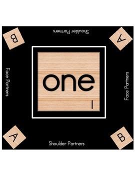 Scrabble Table Mats