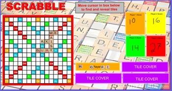 Scrabble on the Board
