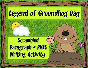 Scrambled Paragraph + Plus:  Legend of Groundhog Day