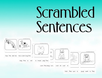 Scrambled Sentences: CVC