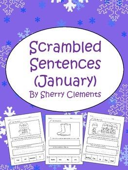 January Scrambled Sentences