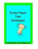 Scrap Paper Test Strategies Polygons - Full Version