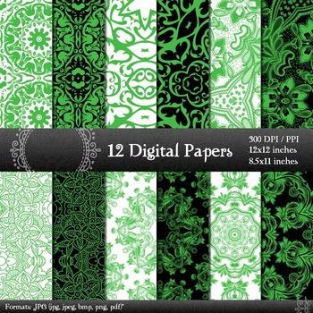 Scrapbook Layout Book  12 X 12 + 8.5 X 11  Decoration Vari