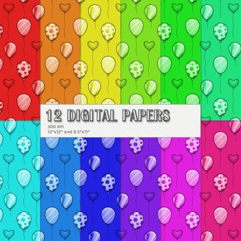 Scrapbook Paper Seamless Template A4 Journal Scrap Booking