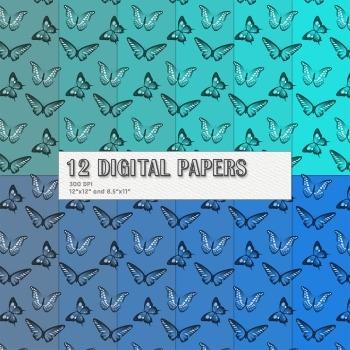 Scrapbook Paper Supplie Insect 12 X 12 8 5 X 11 Scrap Book