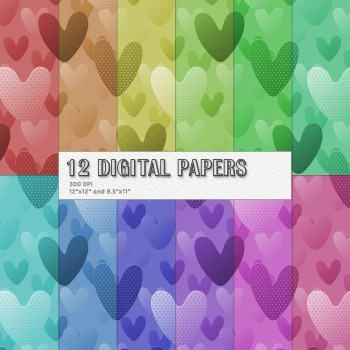 Scrapbook Paper Surprise Repeat Layout Happy Lovely Decora