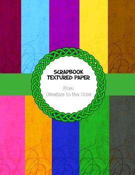 Scrapbook Textured Backgrounds II ~ 10 jpeg images