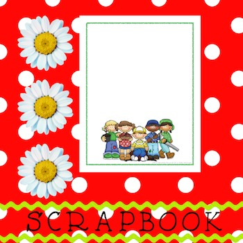 Scrapbook - Yearbook Cover Page: Woodsy Kids