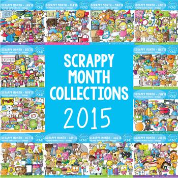 Scrappy 2015 - A Year of Scrappy Doodles