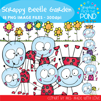 Scrappy Beetle Garden