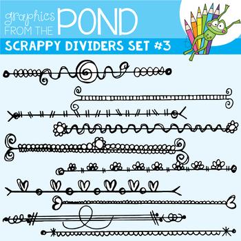Scrappy Dividers Set 3