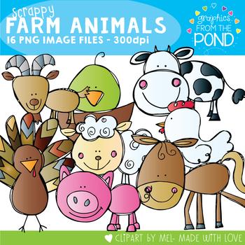 Scrappy Farm Creatures