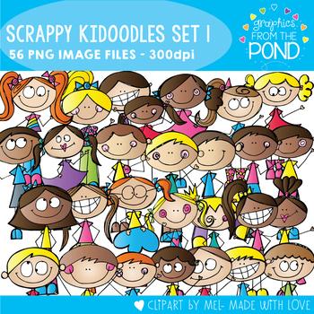 Scrappy Kidoodles Clipart