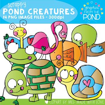 Scrappy Pond Creatures