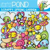 Spring Garden (Scrappy) - Clipart Set for Teachers