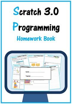 Scratch 2.0 Programming & Coding Work Booklet (ISTE 2016 Aligned)