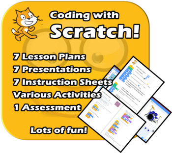 Scratch - A Fun and complete unit - Planning, PPTs, Assess