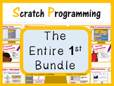 Scratch Programming Coding - The Entire 1st Bundle (ISTE 2