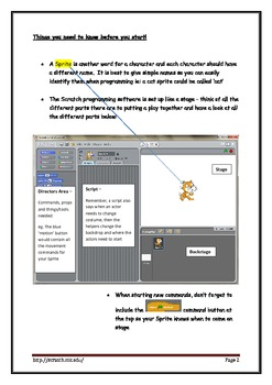 Scratch Beginners Workbook for Students and Teachers - Che