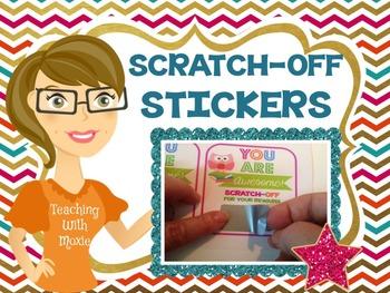 Scratch Off Stickers