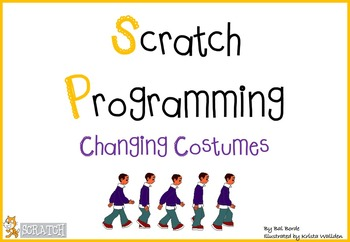 Scratch Programming - Changing Costume by Computer Creations