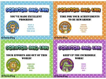 Scratch and Win Reward Vouchers