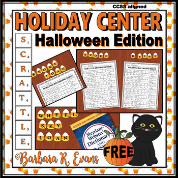 SCRATTLE LEARNING CENTER: Halloween Edition