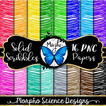Scribble Digital Paper (Commercial or Personal Use)