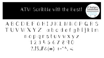 Scribble with the Best Font