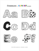 Scribbling the Alphabet