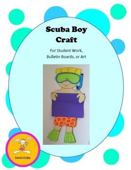 Scuba Craft -Decorative Display Craft for Bulletin Boards,