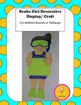 Scuba Craft -Decorative Display/Craft for Bulletin Boards