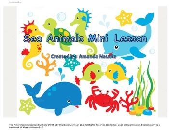 Sea Animal Mini Lesson